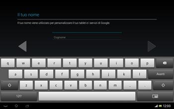 Sony Xperia Tablet Z LTE - Applicazioni - Configurazione del negozio applicazioni - Fase 6