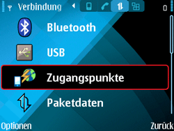 Nokia E71 - Internet - Manuelle Konfiguration - 7 / 29