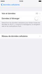 Apple iPhone 6s iOS 10 - Réseau - Changer mode réseau - Étape 5