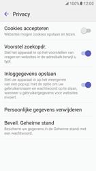 Samsung Galaxy S7 - Privacy - Privacy instellingen van de browser aanpassen - Stap 17