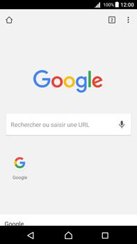 Sony Xperia Z5 Premium - Android Nougat - Internet - navigation sur Internet - Étape 16