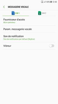 Samsung Galaxy J7 (2017) - Messagerie vocale - Configuration manuelle - Étape 8