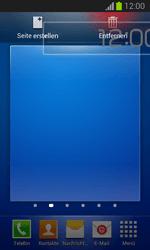 Samsung Galaxy Trend Lite - Startanleitung - Installieren von Widgets und Apps auf der Startseite - Schritt 10