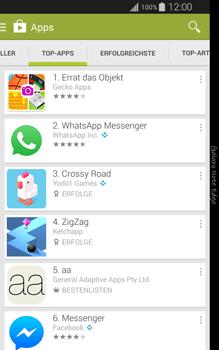 Samsung Galaxy Note Edge - Apps - Installieren von Apps - Schritt 8