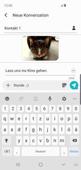 Samsung Galaxy S10e - MMS - Erstellen und senden - Schritt 25