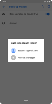 Nokia 9 - Data - Maak een back-up met je account - Stap 9