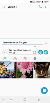 Samsung Galaxy A6 - MMS - afbeeldingen verzenden - Stap 14
