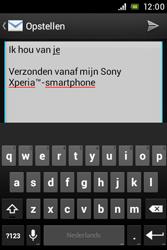 Sony C1505 Xperia E - E-mail - E-mail versturen - Stap 10