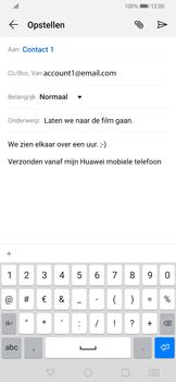 Huawei P Smart Z - E-mail - e-mail versturen - Stap 8