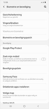 Samsung Galaxy S20 Ultra 5G Dual SIM eSIM SM-G988B - Beveiliging en ouderlijk toezicht - Zoek mijn mobiel inschakelen - Stap 5