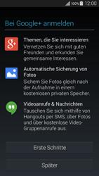 Samsung Galaxy A3 - Apps - Konto anlegen und einrichten - 19 / 22