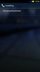 Acer Liquid E3 - Voicemail - Handmatig instellen - Stap 11