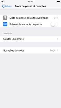Apple iPhone 8 Plus - iOS 12 - E-mail - Configuration manuelle - Étape 4