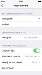 Apple iPhone 5 met iOS 7 - E-mail - Handmatig instellen - Stap 23