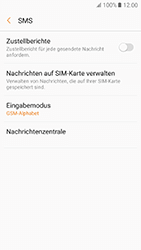 Samsung Galaxy A5 (2017) - SMS - Manuelle Konfiguration - 8 / 11