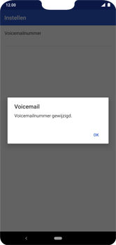 Nokia 7.1 - Android Pie - voicemail - handmatig instellen - stap 11