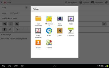 Samsung N8020 Galaxy Note 10-1 LTE - E-mail - Hoe te versturen - Stap 11