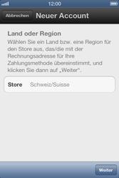 Apple iPhone 3GS - Apps - Einrichten des App Stores - Schritt 5