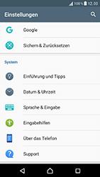Sony F8331 Xperia XZ - Fehlerbehebung - Handy zurücksetzen - Schritt 6