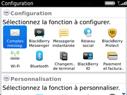 BlackBerry 9720 - E-mails - Ajouter ou modifier un compte e-mail - Étape 4
