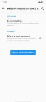 OnePlus 7T - Aller plus loin - Restaurer les paramètres d'usines - Étape 7