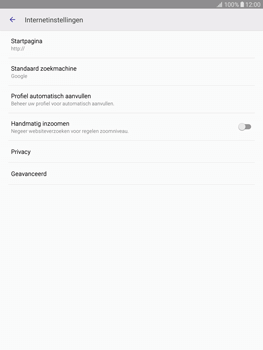 Samsung T815 Galaxy Tab S2 9.7 (SM-T815) - Internet - Handmatig instellen - Stap 25