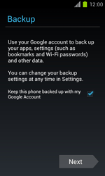 Samsung Galaxy S II - Applications - Setting up the application store - Step 14