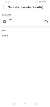Huawei P30 Lite - MMS - Configuration manuelle - Étape 15