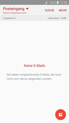 Samsung Galaxy S6 Edge - E-Mail - 032b. Email wizard - Yahoo - Schritt 4