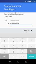Huawei Y6 - Apps - Konto anlegen und einrichten - Schritt 7