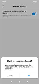 Xiaomi RedMi Note 7 - Réseau - Sélection manuelle du réseau - Étape 8