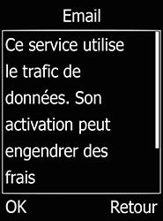 Doro 6520 - E-mails - Ajouter ou modifier votre compte Gmail - Étape 9