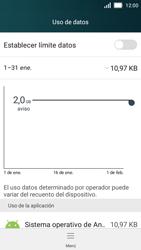 Huawei Y5 - Internet - Ver uso de datos - Paso 4