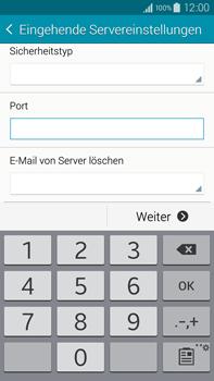 Samsung Galaxy Note 4 - E-Mail - Manuelle Konfiguration - Schritt 10