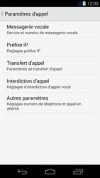 Acer Liquid Jade - Messagerie vocale - Configuration manuelle - Étape 6