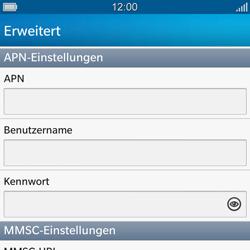 BlackBerry Q10 - MMS - Manuelle Konfiguration - Schritt 8