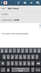Samsung G386F Galaxy Core LTE - E-mail - Bericht met attachment versturen - Stap 9
