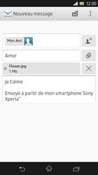 Sony Xpéria Z - E-mails - Envoyer un e-mail - Étape 13