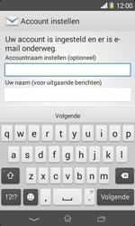 Sony D2005 Xperia E1 - E-mail - Account instellen (POP3 zonder SMTP-verificatie) - Stap 17