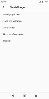 Sony Xperia XZ2 - Android Pie - Anrufe - Rufumleitungen setzen und löschen - Schritt 6