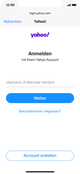 Apple iPhone 11 Pro - iOS 14 - E-Mail - 032b. Email wizard - Yahoo - Schritt 6