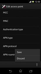 Sony C1905 Xperia M - Internet - Manual configuration - Step 17
