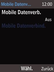Nokia 225 - Internet und Datenroaming - Prüfen, ob Datenkonnektivität aktiviert ist - Schritt 6