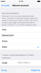 Apple iPhone SE (iOS 9) - apps - account instellen - stap 18