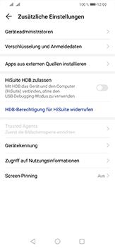 Huawei P30 Lite - Startanleitung - So aktivieren Sie eine SIM-PIN - Schritt 5