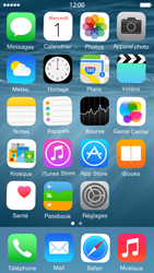 Apple iPhone 5s (iOS 8) - Applications - Personnaliser l