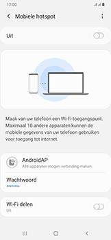 Samsung galaxy-a50-dual-sim-sm-a505fn - WiFi - Mobiele hotspot instellen - Stap 11