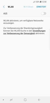Samsung Galaxy S9 - WLAN - Manuelle Konfiguration - Schritt 6
