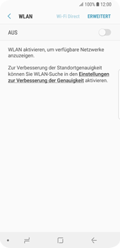 Samsung Galaxy S9 - WLAN - Manuelle Konfiguration - 6 / 10