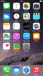 Apple iPhone 6 iOS 8 - Getting started - Personalising your Start screen - Step 3